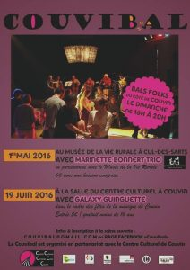 Affiche bal CouviBal