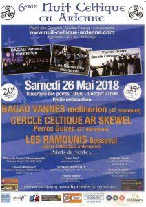 Les Ramounis à la nuit Celtique du samedi 26 mai 2018