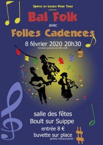 Affiche bal folk Boult-sur-Suippes